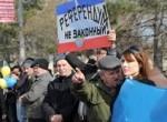 У результати референдуму вірять тільки в Росії